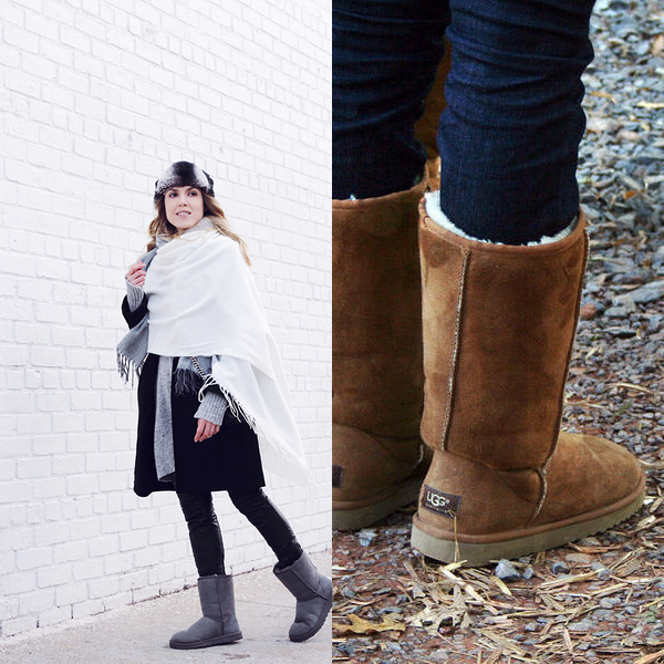 Модные женские угги осень-зима 2016-2017 года