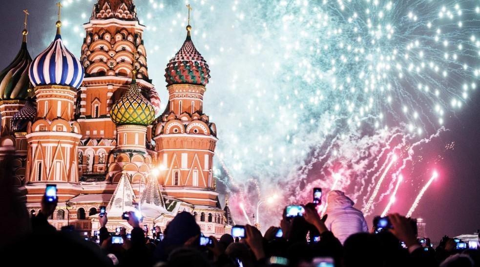 Новый 2019 год Свиньи на Красной площади