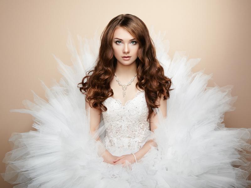 Модные свадебные причёски в 2017 году