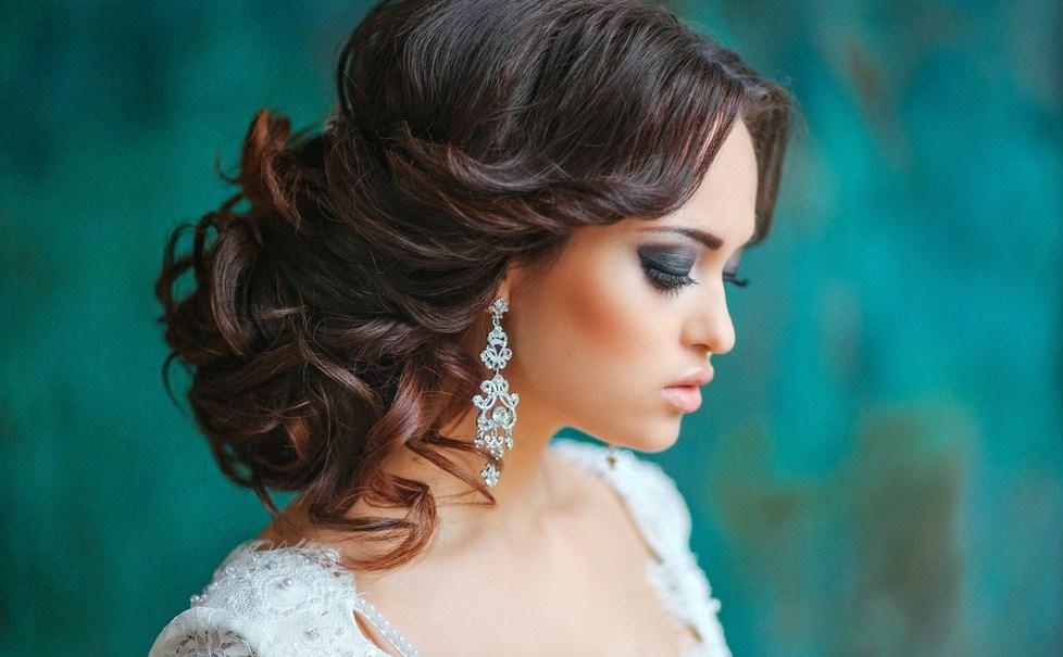 Фото красивых свадебных причесок на длинные волосы