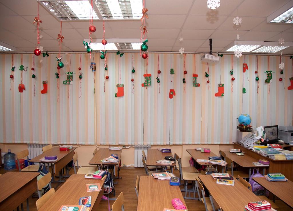Украшение в классе на новый год своими руками