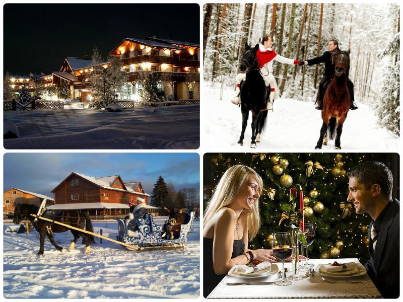 Где лучше встретить новый год