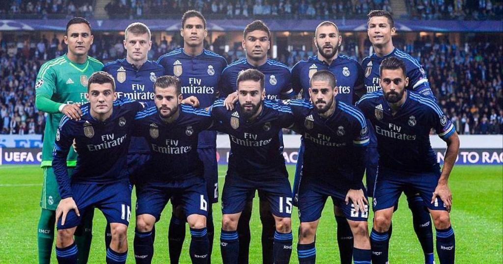 Форма Реал-Мадрид в 2017 году