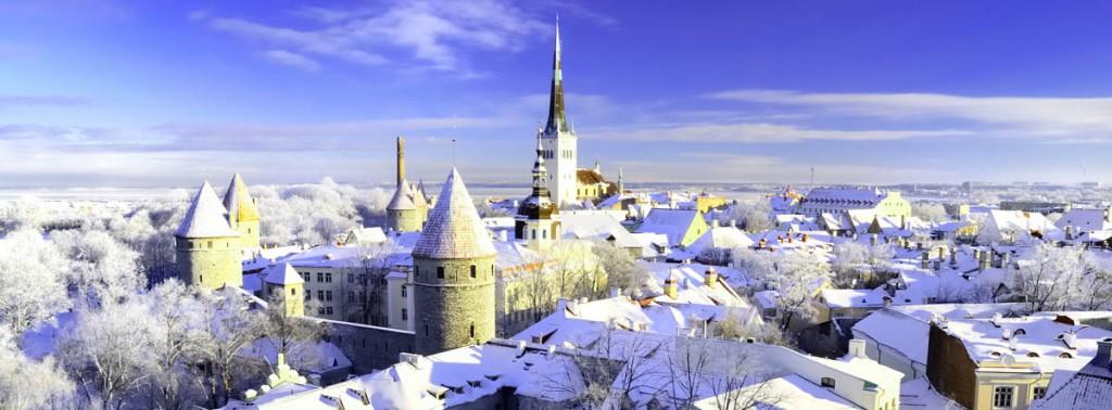 Новый год 2017 в Таллине
