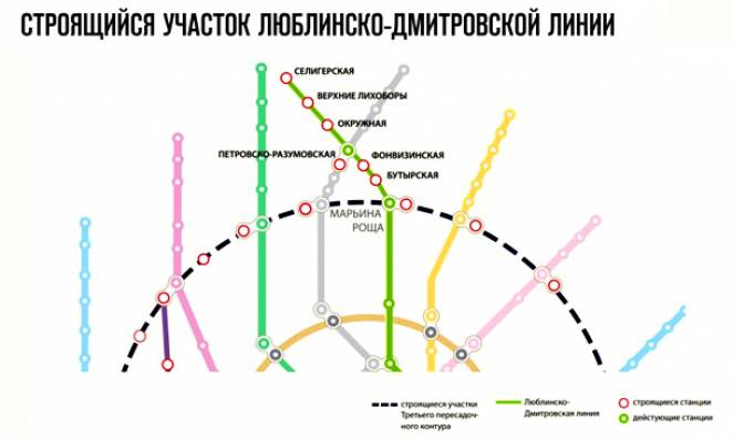 Люблинско-Дмитровская линия метро 2017