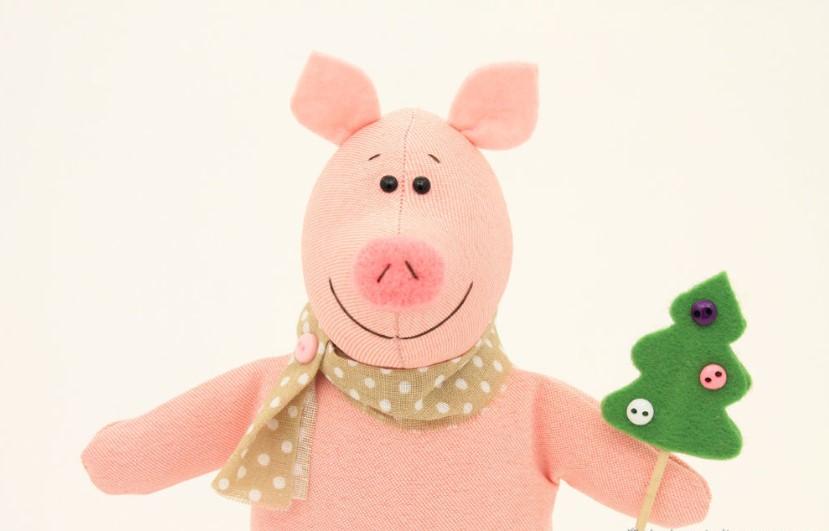Сувениры к Новому 2019 году Свиньи